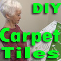DIY Peel N Stick Carpet Tile Sale