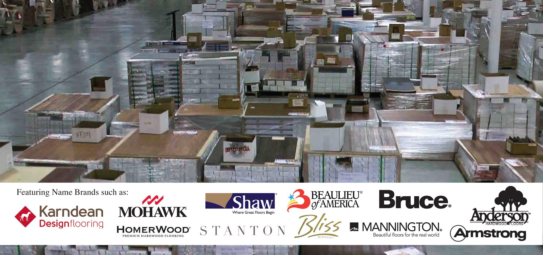 All Major Mills Available! Karndean-Mohawk-Shaw-Bruce-Beaulieu-Mannington
