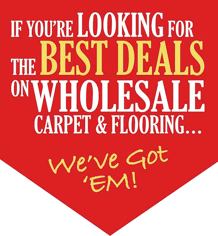 If you are looking for the best deals on wholesale carpet and flooring we have got them
