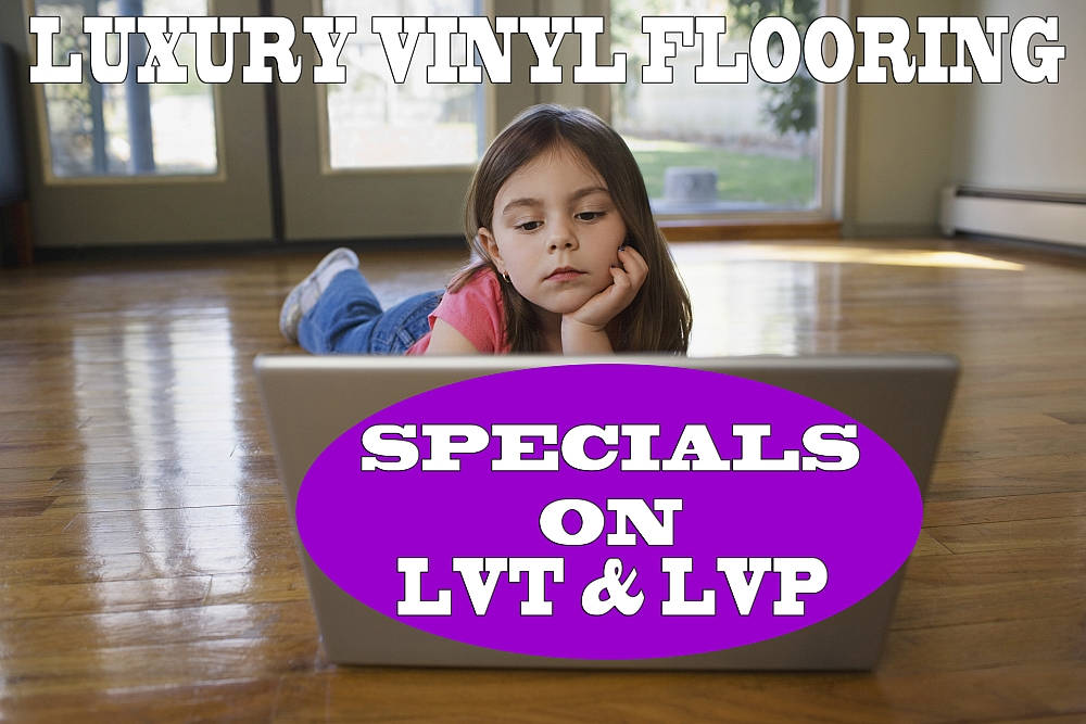 Luxury Vinyl Flooring Specials - Click To View Selections