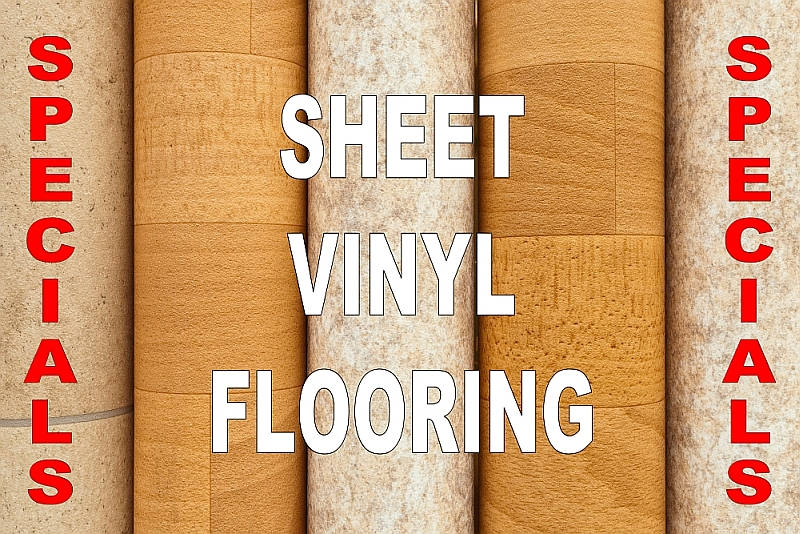 Sheet Vinyl Flooring Deals and Best Buys - Click To View Selections
