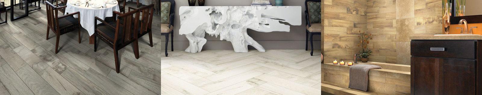 Ceramic Tile Planks and Porcelain Tile Planks Available